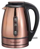Hamilton Beach 1.7 L. Electric Kettle - Copper 40866