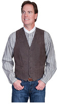 Scully Men's Lambskin Button Front Vest 503-63