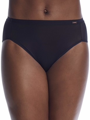 Le Mystere Women's Infinite Comfort High Waist French Cut Brief Panty