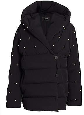 Mackage Women's Aura Faux Pearl Embellished Puffer Jacket