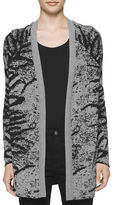 Calvin Klein Long Sleeve Open Front Knit Cardigan