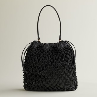 Elizabeth and James Mesh Market Shoulder Bag