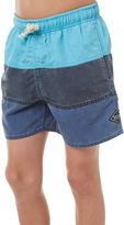 Rip Curl Kids Boys Sections Volley Beach Short Blue