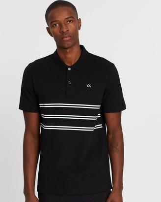 Calvin Klein Striped Polo