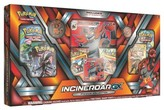 Pokemon 2017 Trading Card GX Premium Box featuring Incineroar