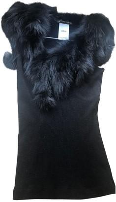 Plein Sud Jeans Black Wool Top for Women
