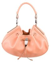 Tod's Small Leather Drawstring Hobo