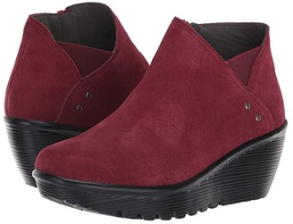 Skechers Parallel Ditto (Burgundy) Women's Shoes