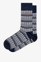 Jack Wills Eynsford Single Fairisle Socks