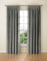 Marks and Spencer Velvet Pencil Pleat Curtain