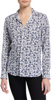 Frank And Eileen Long-Sleeve Floral-Print Button-Down Top