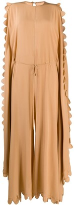 Stella McCartney Scalloped Wide Jumpsuit
