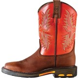 Ariat Workhog Wide Square Toe (Children's)