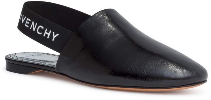 Givenchy Rivington black sling-back flats