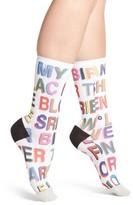 Stance Women's X Libertine Love Letters Crew Socks