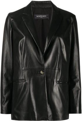 Simonetta Ravizza Betty leather blazer