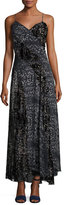 Haute Hippie Off the Beaten Track Paisley Maxi Dress, Psycho Burn Out