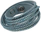 Swarovski Slake 5046391 Alcantara Bracelet w/ Mixed Crystals