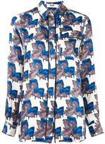 MSGM printed pyjama shirt