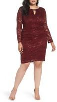 Marina Plus Size Women's Lace Sheath Dress