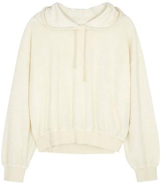 American Vintage Cream terrycloth sweatshirt