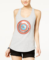 Marvel Juniors' Embellished Superhero Graphic Tank Top