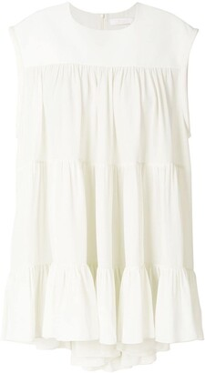 Chloé flared style dress