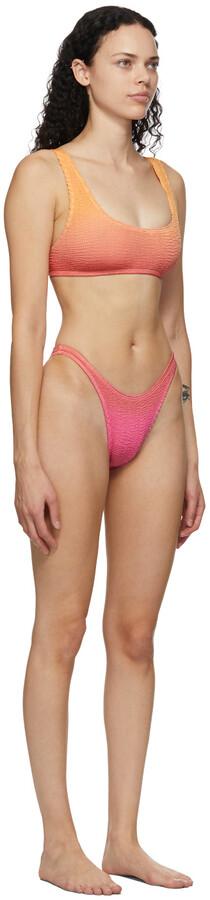 Thumbnail for your product : BOUND by Bond-Eye Pink & Orange 'The Malibu' Bikini