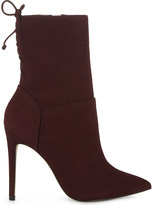 Aldo Angnes suede heeled ankle boots