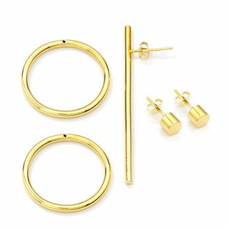 Mvdt Collection Bold Earring & Double Bold Earring