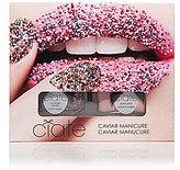 Ciaté Rainbow Multi-Pearls & Strawberry Milkshake Caviar Manicure Set