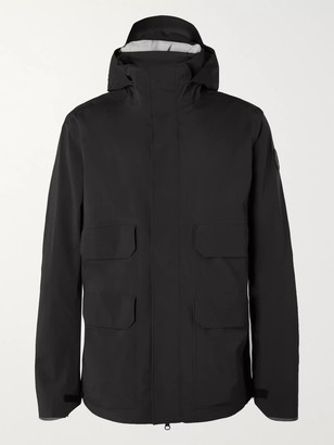 Canada Goose Meaford Logo-Print Tri-Durance Hooded Jacket