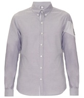 Moncler Gamme Bleu Banded-arm cotton shirt