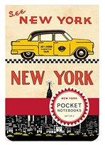 Cavallini & Co. Pocket Notebook Set New York