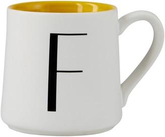 Indigo Monogram Espresso Cup F