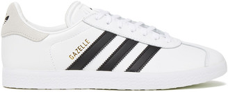 adidas Suede-trimmed Leather Sneakers