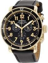 Shinola Men's The Runwell Sport 48mm Leather Band Quartz Watch 20044138