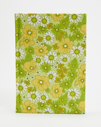 Typo - Women's Green All Stationery - A5 Dot Oxford Notebook - Size One Size at The Iconic