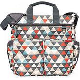 Skip Hop Signature Triangle-Print Diaper Bag