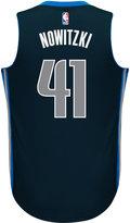 adidas Men's Dirk Nowitzki Dallas Mavericks New Swingman Jersey