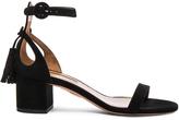 Aquazzura Pixie Suede Sandals