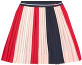 Ikks Crepe pleated skirt