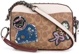 Coach Patch Detail Camera Bag