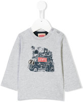 Levi's Kids music van print top