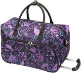 Ricardo Beverly Hills Mar Vista Softside 20'' City Rolling Duffel Bag