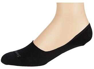 Smartwool Sneaker No Show 2-Pack (Medium Gray) Men's No Show Socks Shoes