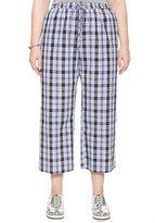 ELOQUII Plus Size Studio Plaid Soft Pant