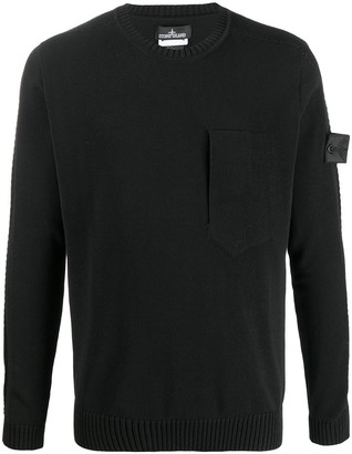 Stone Island Shadow Project Catch Pocket jumper