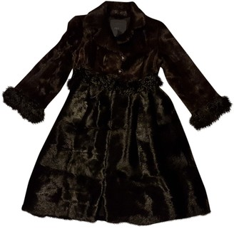 Fendi Brown Mink Coat for Women