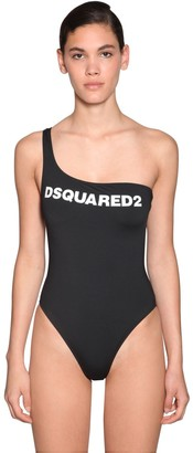 DSQUARED2 Printed Lycra One Piece Swimsuit